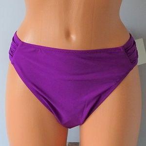 GOTTEX NWT Orchid Bikini Bottom Size 12